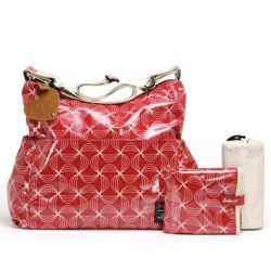 Torba dla mamy Babymel Slouchy Twisted Red
