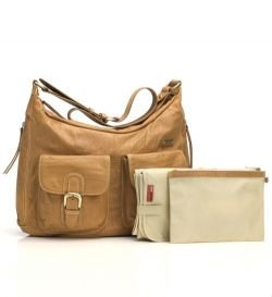 Torba dla Storksak Emily Leather Tan 500