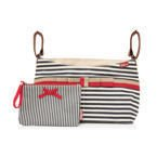 Organizer do wózka - Navy Stripe