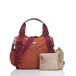 Torba dla mamy Storksak Tania Bee Burnt Orange